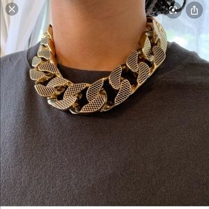 Allsaints Valtari Necklace in gold